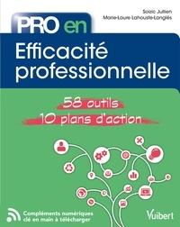 Marie-Laure Lahouste-Langlès et Soizic Jullien - Efficacité professionnelle - 58 Outils et 10 Plans d'action.