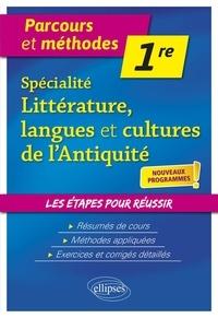 Livre téléchargé gratuitement en ligne Spécialité littérature, langues et cultures de l'antiquité 1re 9782340031456 (French Edition) RTF PDB