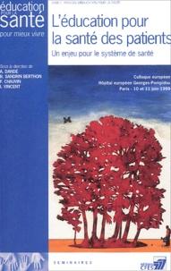 Marie-Laure Moquet-Anger et  Collectif - L'éducation en santé : Enjeux, obstacles, moyens. - Colloque pluridisciplinaire, Faculté de droit et de science politique de Rennes, Rennes, 24 et 25 septembre 1998.