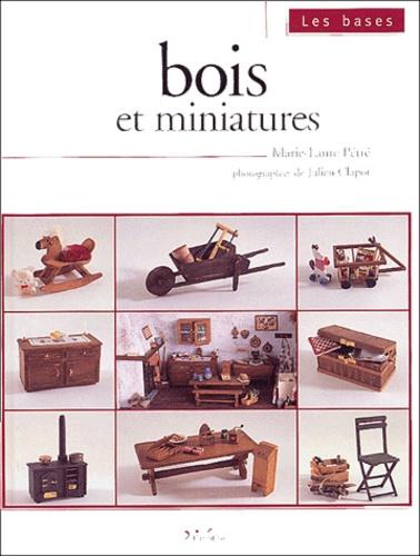 Marie-Laure Petre - Bois et miniatures.