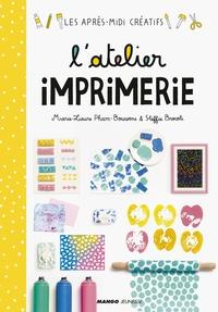 Marie-Laure Pham-Bouwens et Steffie Brocoli - L'atelier imprimerie.