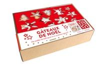 Marie-Laure Tombini - Coffret Gâteaux de Noël - Gâteaux de Noël, toutes les techniques en pas à pas avec 1 emporte-pièce.