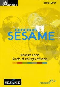 Marie-Laure Vignaud - Concours SESAME - Annales, sujets et corrigés officiels.
