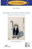 Marie Laureillard - Feng Zikai, un caricaturiste lyrique - Dialogue du mot et du trait.