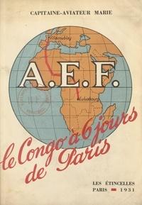 Marie et R. Antonetti - Le Congo à six jours de Paris.