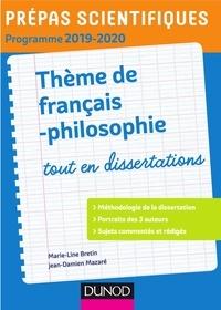 Version complète téléchargeable gratuitement La démocratie tout en dissertations  - Prépas scientifiques en francais 9782100794256