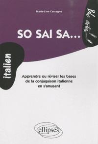 Histoiresdenlire.be So sai sa... - Apprendre ou réviser les bases de la conjugaison italienne en s'amusant Image