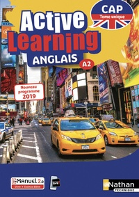 Deedr.fr Anglais CAP A2 Active Learning - Tome unique Image