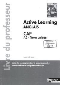 Marie-Line Périllat-Mercerot - Anglais CAP A2 Tome unique Active Learning - Livre du professeur.