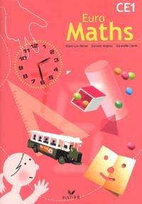 Marie-Lise Peltier et Danielle Vergnes - Euro Maths CE1.