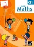 Marie-Lise Peltier et Joël Briand - Euro Maths CE1 - Conforme au socle commun et aux nouveaux programmes.
