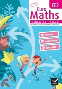 Marie-Lise Peltier et Joël Briand - Euro Maths CE2 - Fichier de l'élève, avec un Aide-mémoire.