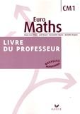 Marie-Lise Peltier et Joël Briand - Euro Maths CM1 - Livre du professeur.