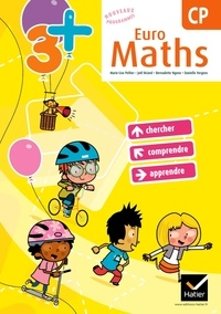 Marie-Lise Peltier et Joël Briand - Euro maths CP - Avec Aide mémoire.