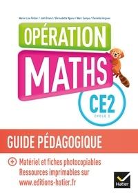 Marie-Lise Peltier et Joël Briand - Opération Maths CE2 - Guide pédagogique.
