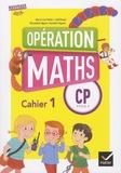 Marie-Lise Peltier et Joël Briand - Opération maths CP cycle 2 - Pack en 3 volumes : Cahier 1 ; Cahier 2 ; Le mémo, le matériel.