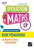 Marie-Lise Peltier et Joël Briand - Opération Maths CP - Guide pédagogique. 1 Cédérom