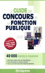 Marie-Lorène Giniès - Le guide des concours de la fonction publique.