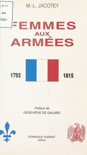 Femmes aux armées  de 1792-1815