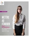 Marie-Louise Moreau et Anne Dister - Mettre au féminin - Guide de féminisation des noms de métier, fonction, grade ou titre.
