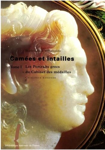 Marie-Louise Vollenweider - Camées et intailles - Tome 1, Les portraits grecs du Cabinet des médailles.