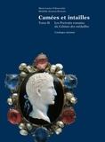 Marie-Louise Vollenweider - Camées et intailles - Tome 2, Les portraits romains du Cabinet des médailles.