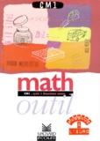 Marie Loumardin et Bernard Séménadisse - Math outil, CM1 - Cycle 3, deuxième année.
