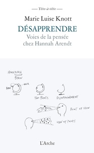 Deedr.fr Désapprendre - Voies de la pensée chez Hannah Arendt Image