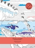 Marie M et Adrienne Bornstein - Affiche à colorier Animaux de la mer.
