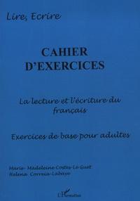 Histoiresdenlire.be Cahier d'exercices : la lecture et l'écriture du francais, exercices pour adultes Image