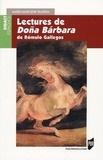 Marie-Madeleine Gladieu - Lectures de Doña Barbara de Romulo Gallegos.