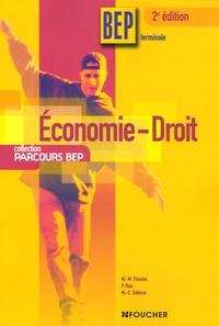 Marie-Madeleine Piroche et P Ruiz - Economie-Droit Tle BEP.