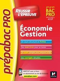 Marie-Madeleine Piroche et Sylvie Charreau - PrepabacPRO - Réussir l'épreuve - Economie-Gestion - Entrainement et révision.