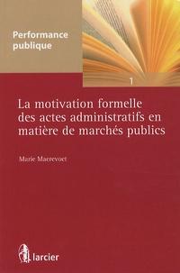 Galabria.be La motivation formelle des actes administratifs en matière de marchés publics Image