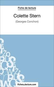 Marie Mahon et  Fichesdelecture.com - Colette Stern - Analyse complète de l'oeuvre.