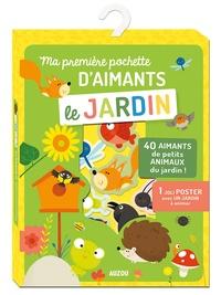 Marie Morey - Ma première pochette d'aimants Le jardin - Avec 40 aimants et 1 joli poster avec un jardin à animer.