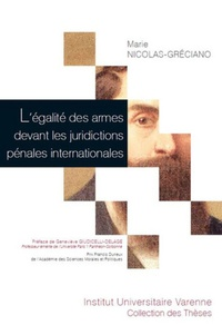 Deedr.fr L'égalité des armes devant les juridictions pénales internationales Image
