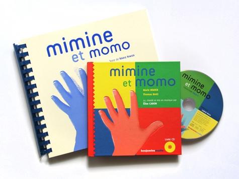 Mimine et Momo. 2 volumes  avec 1 CD audio - Braille