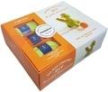 Marie-Noëlle Bayard - Ma box crochet DIY le petit dinosaure - Avec 3 petites pelotes, 1 aiguillée de fil noir, 1 crochet, du rembourrage.