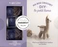 Marie-Noëlle Bayard - Ma box crochet DIY le petit lama - Avec 3 pelotes, 1 crochet, 1 paquet de rembourrage et 1 livre.
