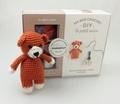 Marie-Noëlle Bayard - Ma box crochet DIY le petit ours - Avec 3 pelotes de fil polyester, 1 aiguillée de fil polyester noir, 1 crochet, 1 paquet de rembourrage.