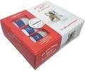 Marie-Noëlle Bayard - Ma box tricot DIY le petit chat - Avec 3 petites pelotes, 1 aiguillée de fil noir, 1 paire d'aiguilles à tricoter, du rembourrage.