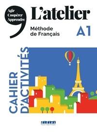 Marie-Noëlle Cocton et Emilie Pommier - L'atelier A1 - Cahier d'activités. 1 CD audio MP3