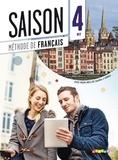 Marie-Noëlle Cocton - Saison 4 B2 - Méthode de français. 1 DVD + 1 CD audio