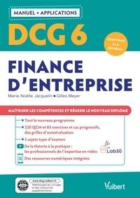 Marie-Noëlle Jacquelin et Gilles Meyer - DCG 6 Finance d'entreprise.