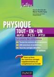 Marie-Nöelle Sanz - Physique tout-en-un 1e année MPCI-PCSI-PTSI - Cours et exercices corrigés.
