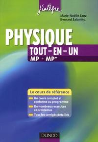 Marie-Nöelle Sanz et Bernard Salamito - Physique tout-en-un MP MP* - Le cours de référence.