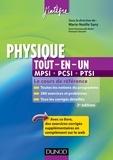 Marie-Nöelle Sanz et Anne-Emmanuelle Badel - Physique tout-en-un MPSI-PCSI-PTSI - 3ème édition - Le cours de référence.