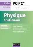 Marie-Nöelle Sanz et Dominique Chardon - Physique tout-en-un PC-PC* - nouveau programme 2014.