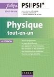 Marie-Nöelle Sanz et Stéphane Cardini - Physique tout-en-un PSI-PSI* - 4e éd..